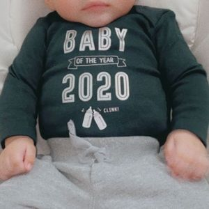 Baby of the year onesie
